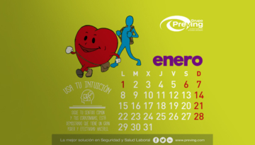 Descarga el calendario 2018 de Grupo Preving