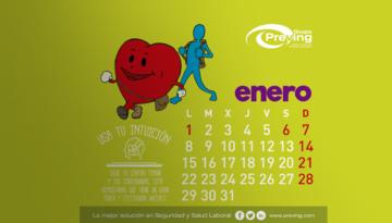 Descarga el calendario 2018 de Grupo Preving