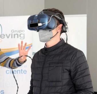 Formación con realidad virtual en PRL