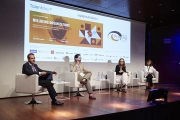 Cuatro ponentes en el debate de la segunda edición del Talent Day