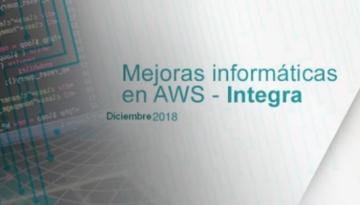Mejoras en el software de gestión PRL; AWS – Integra